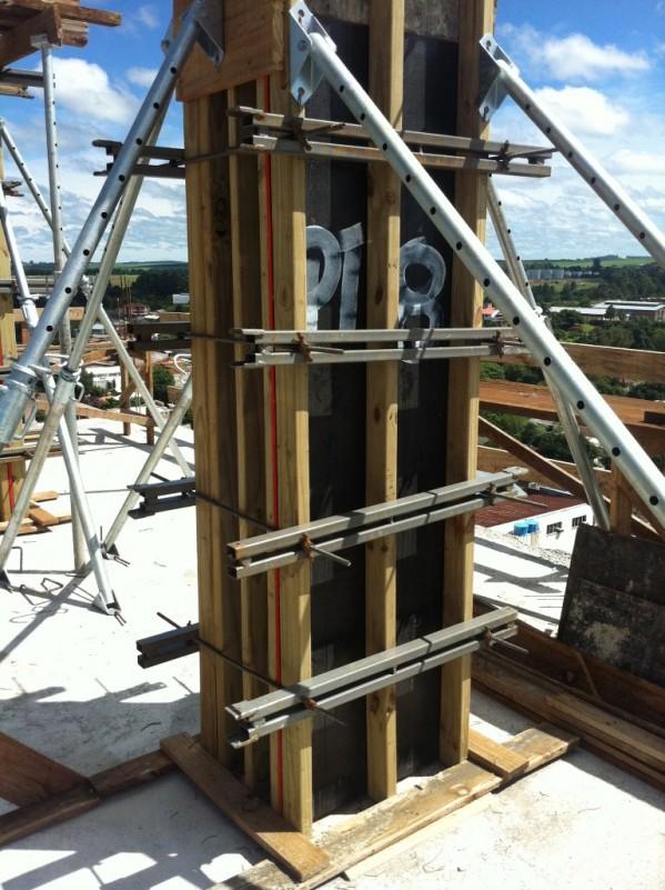 Barras de travamento de pilares/aprumadores de pilar/barras de ancoragem